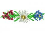 Alpenrosen, Edelweiss, Enzian
