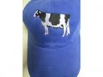 Cap schwarz-weisse Kuh