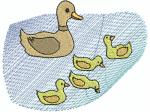 Ente mit Jungen 2