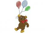 Bär mit Ballone
