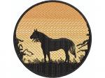 Pferdesilouette