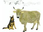 Kuh mit Tösi und Pragelgebiet