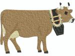 Kuh mit Glocke