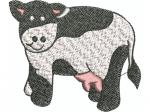 Kuh für Kinderkleider