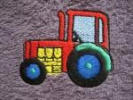 Latz mit Klett Traktor