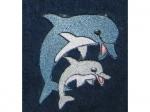 Latz zum Binden Delfine
