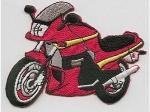 Motorrad rot