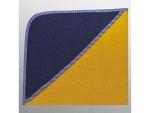 Kapuzenfrottee 80cm x 80cm bestickt gelb Streifen