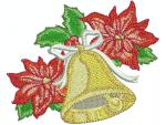 Glocke mit Weihnachtsstern