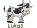 Kuh mit Namen