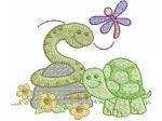 Schlange, Schildkröte