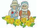 Gartenpaar