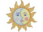 Sonne mit Mond