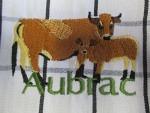 Küchentuch mit Aubrac